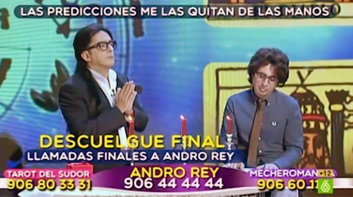 Buenafuente y Berto parodiaron a Sandro Rey ('En el aire', La sexta).