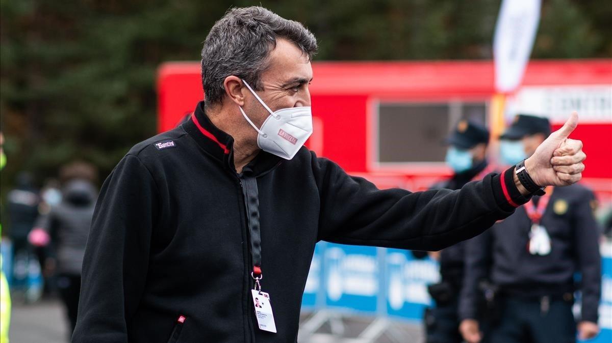 Javier Guillén, director de la Vuelta.