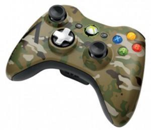Nuevo mando inalámbrico Edición Limitada Camuflaje para Xbox 360
