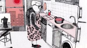 Viñeta de 'Estamos todas bien', de Ana Penyas.