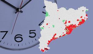 Aquesta és la llista de municipis de Catalunya afectats amb el toc de queda