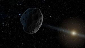 Un asteroide de la mida d'un refrigerador podria impactar contra l'atmosfera el 2 de novembre