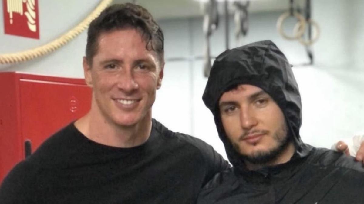 Fernando Torres y Omar Montes, contrincantes inesperados en un combate de boxeo