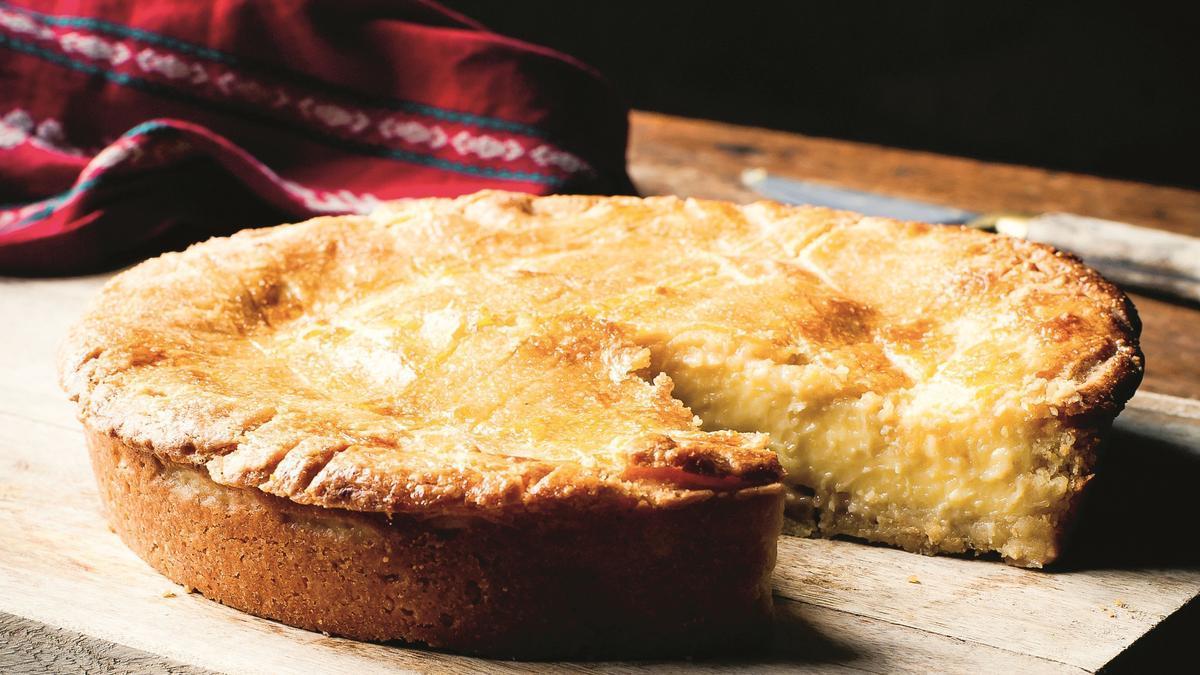 Com fer un senzill i llaminer pastís basc