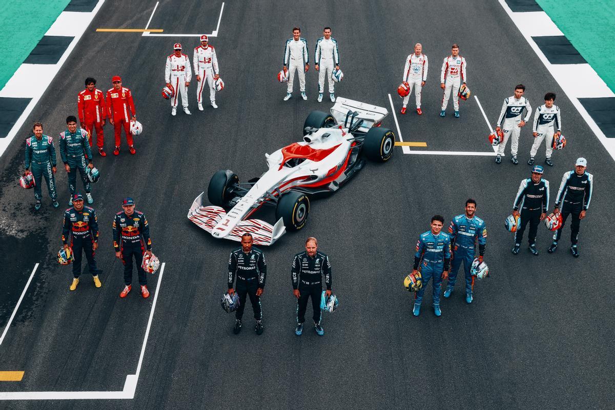 La nueva era de la F-1 comienza en Silverstone