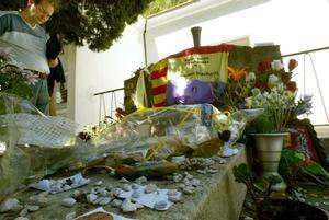 La tumba de Antonio Machado en Colliure.