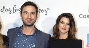Dani Rovira y Clara Lago, en el estreno del documental 'Todos los caminos', el 9 de enero del 2019.