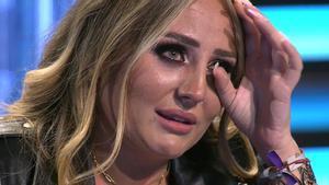 Rocío Flores rompe a llorar y abandona el plató por unas palabras de Olga Moreno en 'Supervivientes 2021'