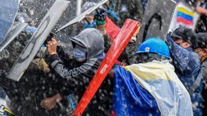 La teoria conspiranoica sobre els motius de les protestes que difon la dreta colombiana