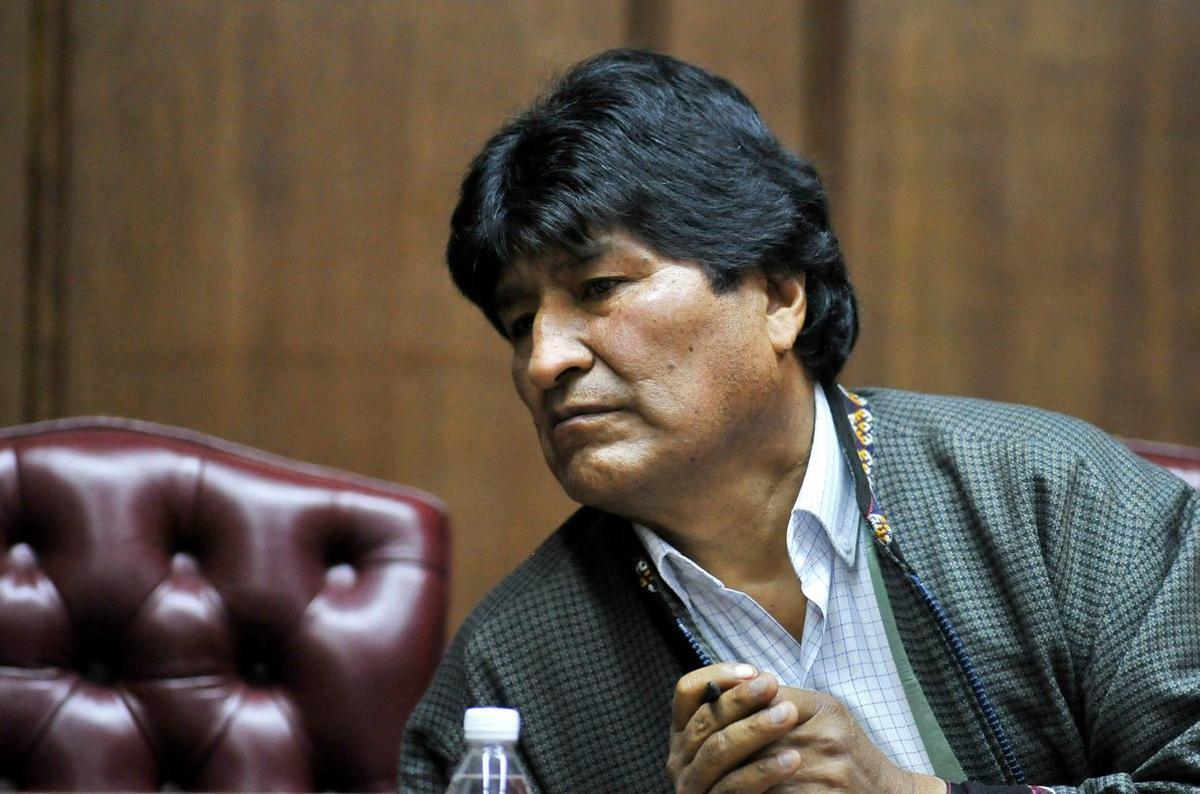 Evo Morales se encuentra asilado en México.