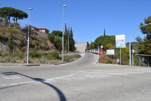 Carretera de Can Ruti de Badalona.