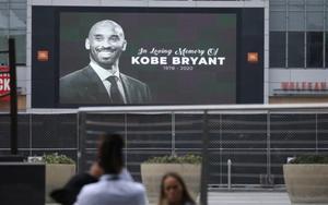 Imagende Kobe Bryant en elStaples Center de Los Ángeles, California.