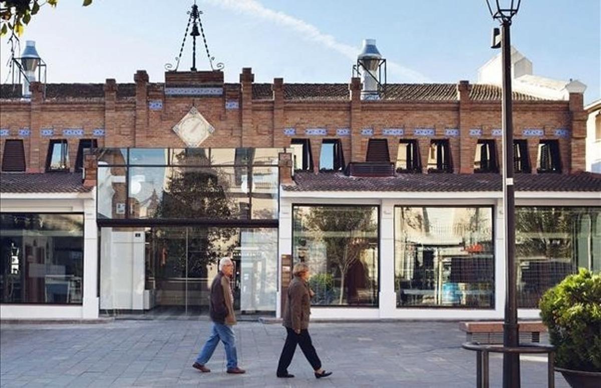 Mercado de Sant Cugat del Vallès.