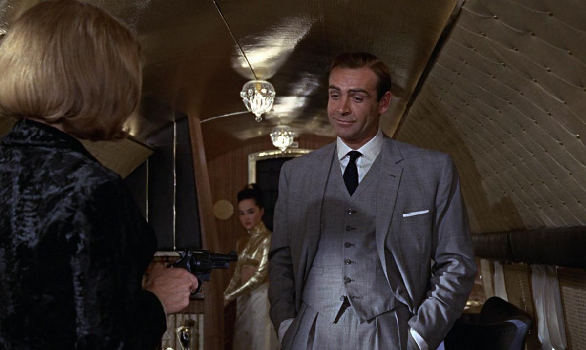 Sean Connery, en 'James Bond contra Goldfinger'.