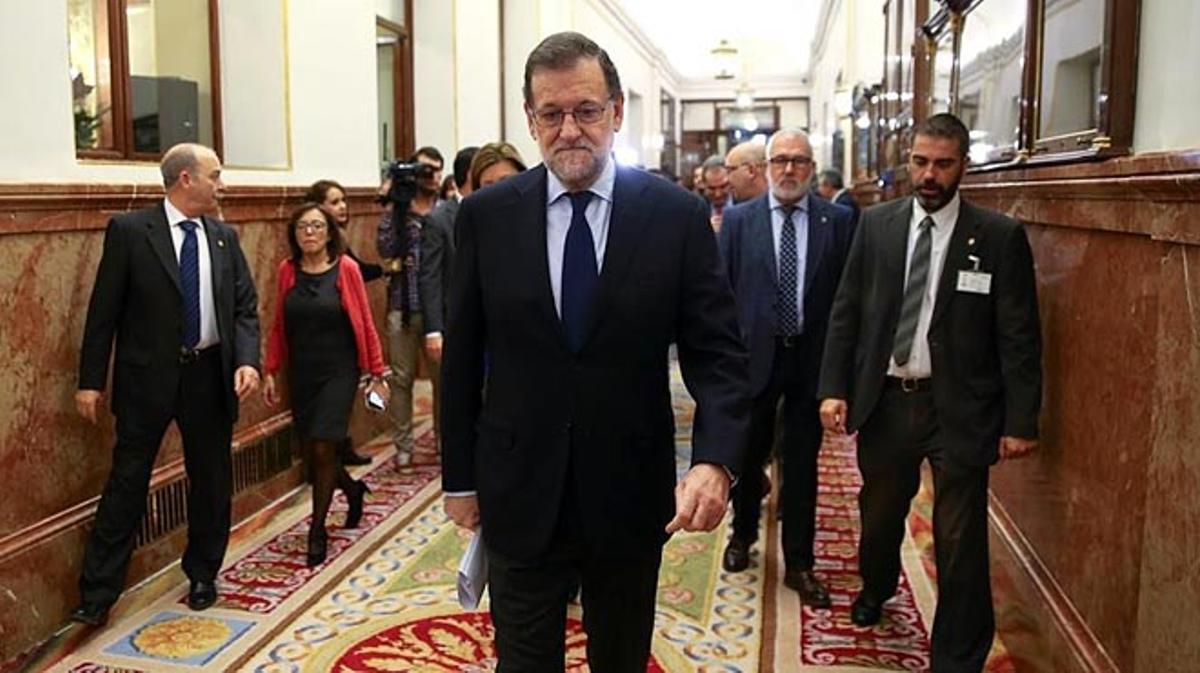 Rajoy anuncia que la Conferencia de Presidentes será el 17 de enero en el Senado.
