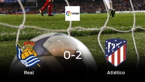 El Atlético de Madrid se lleva el triunfo tras derrotar 0-2 a la Real Sociedad