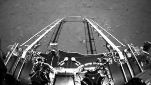 La sonda china Tianwen-1 envía las primeras imágenes tras su llegada a Marte.