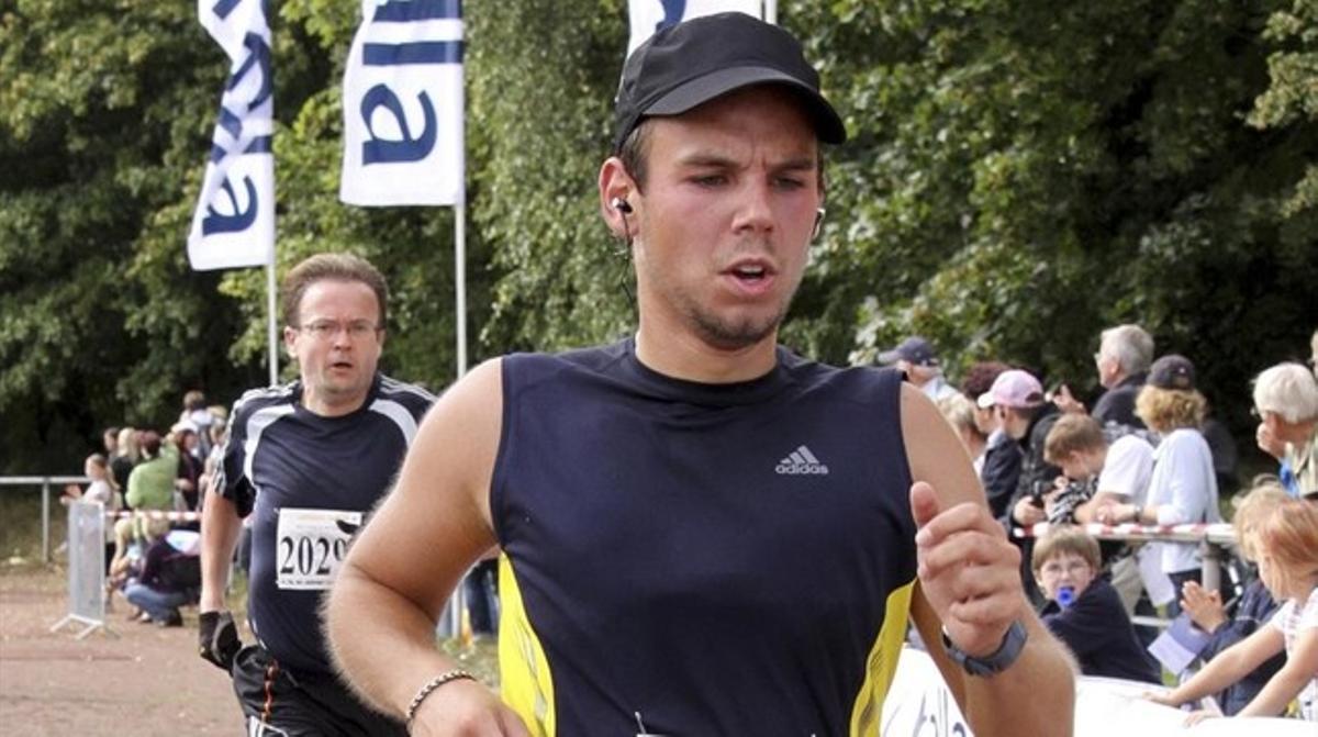 El copiloto Andreas Lubitz en una foto de 2009.