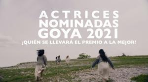 Actrices nominadas en los Goya 2021.