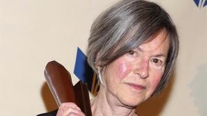 La poeta norteamericana Louise Glück, premio Nobel 2020.