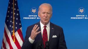 Biden rechaza la iniciativa de Trump para reabrir EEUU a los viajeros de Europa y Brasil.