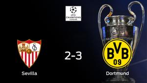 El Borussia Dortmund se pone por delante en la primera eliminatoria de octavos de final con un resultado de 2-3