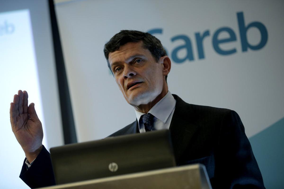 Jaime Echegoyen, presidente de la Sareb.