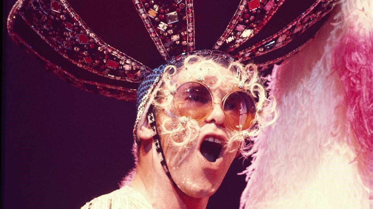 Elton John, en 1974
