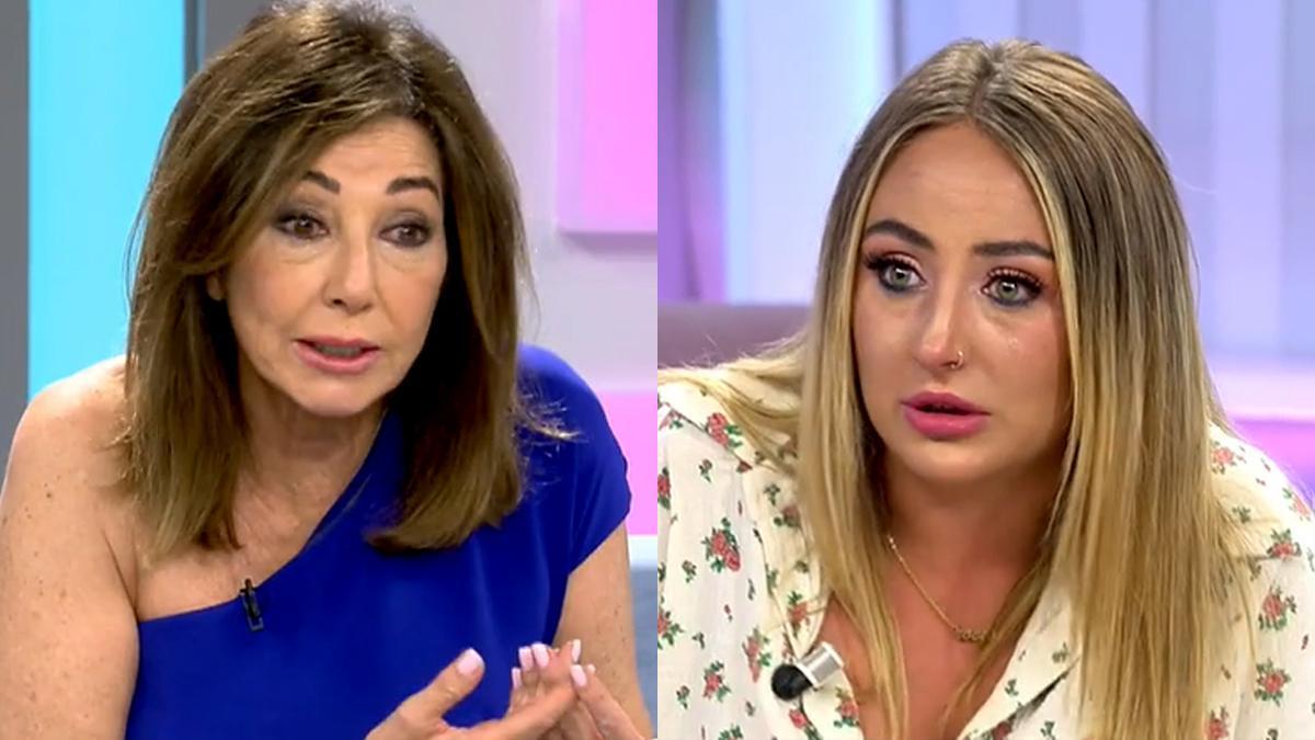 """Ana Rosa abronca a Rocío Flores por su actitud en 'Supervivientes': """"No puedes censurar"""""""