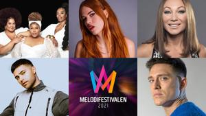 Eric Saade, Danny Saucedo, The Mamas y Dotter, entre los participantes del Melodifestivalen 2021