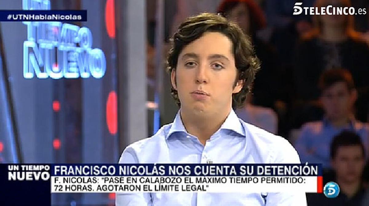 Francisco Nicolás asegura que la vicepresidenta del Gobierno fue quien le invitó al balcón de Génova.