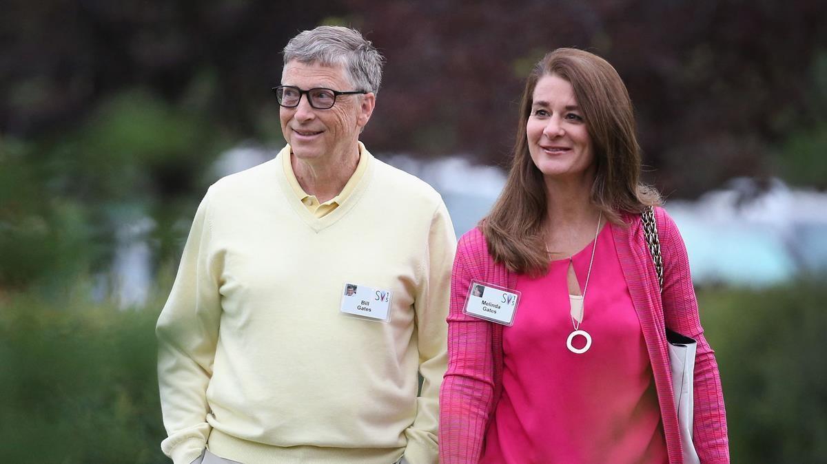 Bill y Melinda Gates se divorcian tras 27 años de matrimonio. En la foto, la pareja en el 2015.