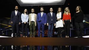 Xoc entre tots sense treva en el debat de TV-3