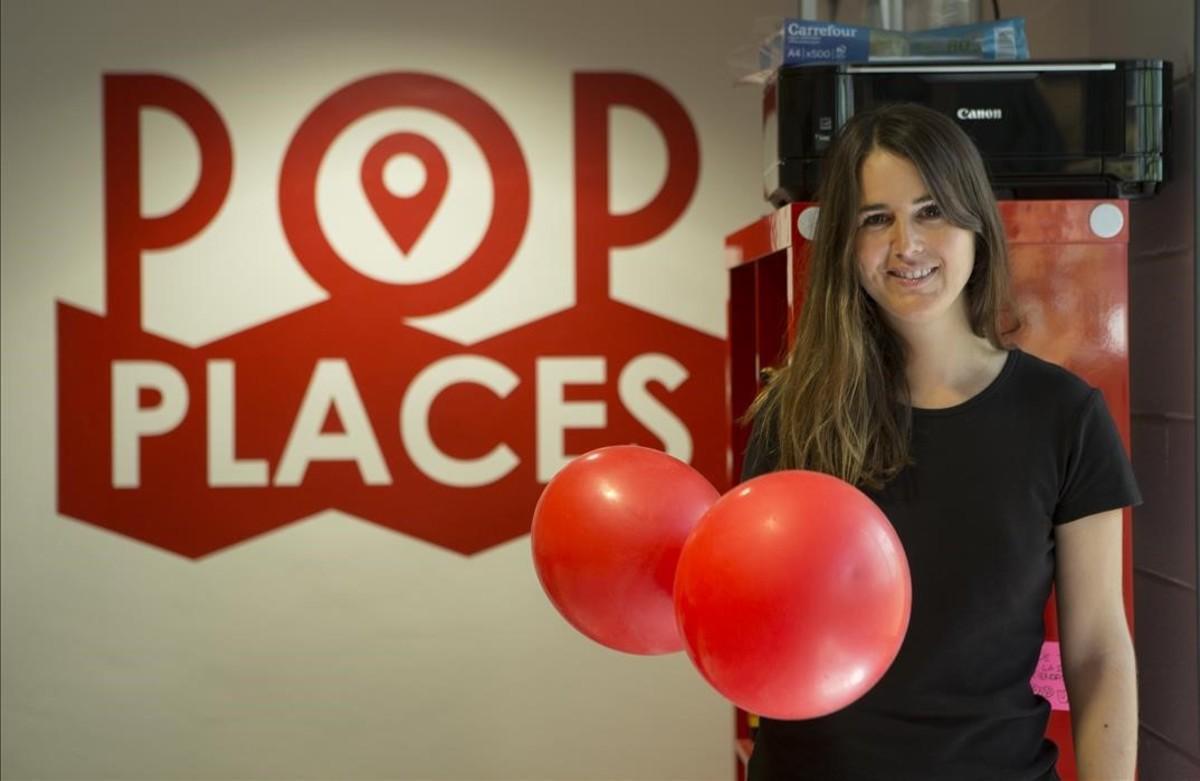 Karen Prats, fundadora de Pop Places.