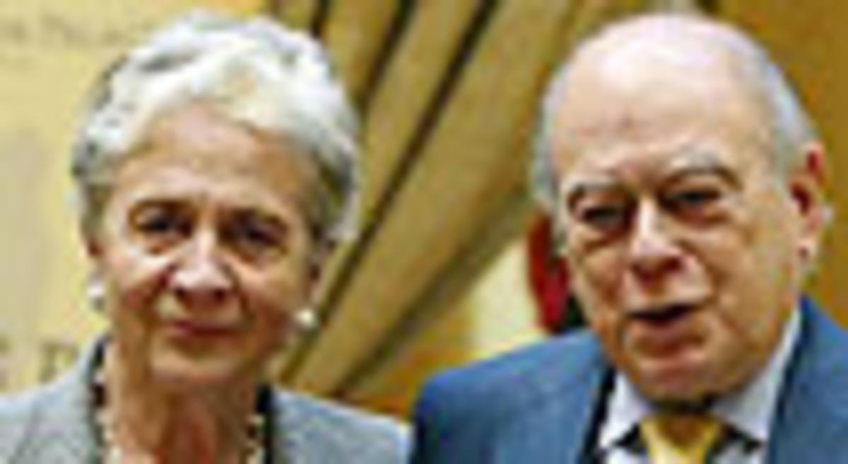 Marta Ferrusola y su esposo, Jordi Pujol.