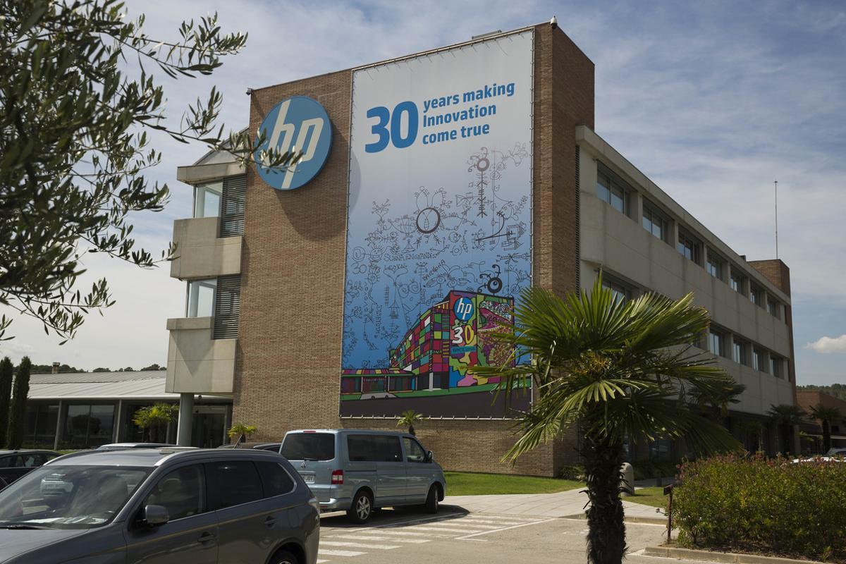 Instalaciones de HP en Sant Cugat.