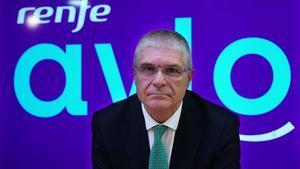 Entrevista alPresidente de RENFE Isaías Táboas en su despacho de Madrid.