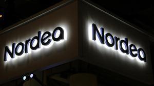 Logotipo de Noedea en una sucursal de Canadá.