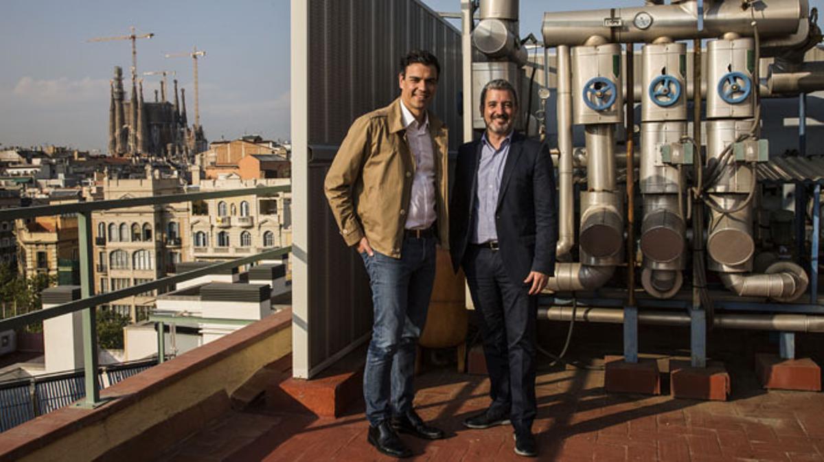 Entrevista cara a cara con Pedro Sánchez y Jaume Collboni.