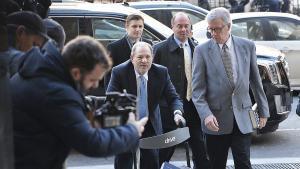 Harvey Weinstein llega a la Tribunal Penal de Nueva York para escuchar la sentencia, el pasado 24 de febrero.