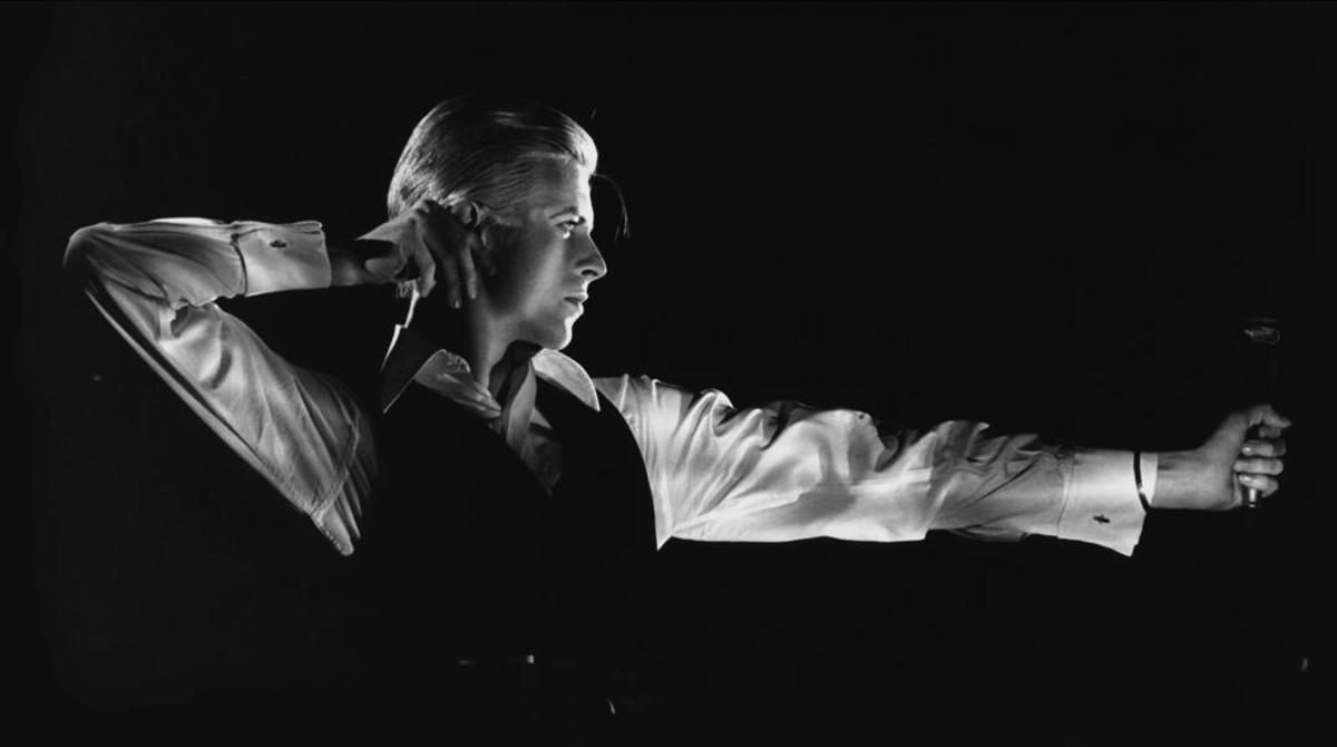 David Bowie, a finales de la década de 1970.