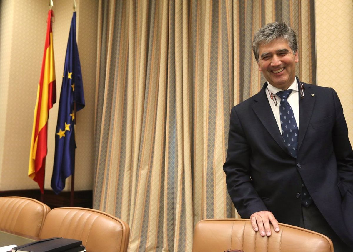 El portavoz del PP en el Senado, Ignacio Cosidó.