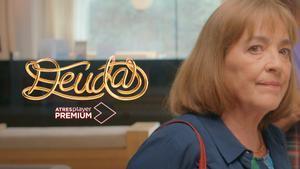 Carmen Maura interpretando a Pepa Carranza en 'Deudas'.