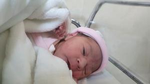 El primer català del 2021: una nena nascuda a Constantí