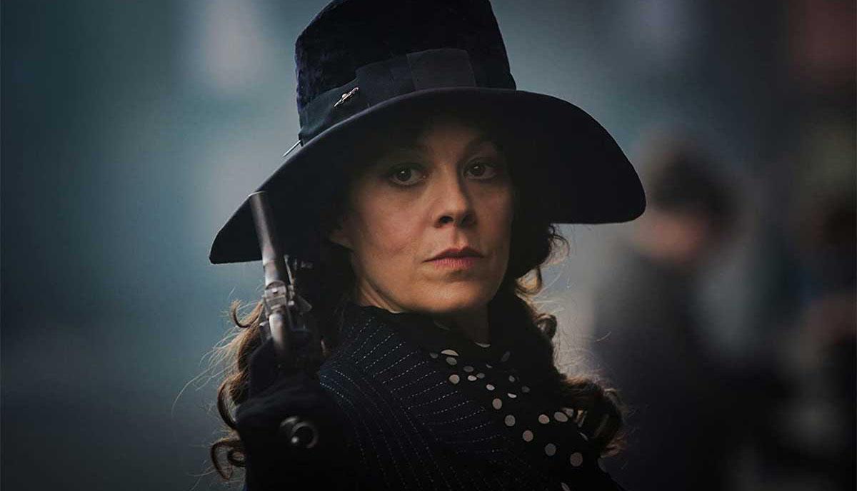 Helen McCrory, como tía Polly, en 'Peaky Blinders'.