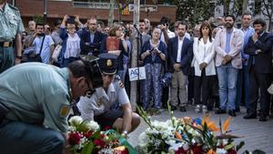 Homenaje a las víctimas de Hipercor celebrado en Barcelona en junio del 2019.