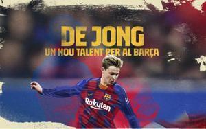 De Jong es vestirà del Barça aquest divendres al Camp Nou