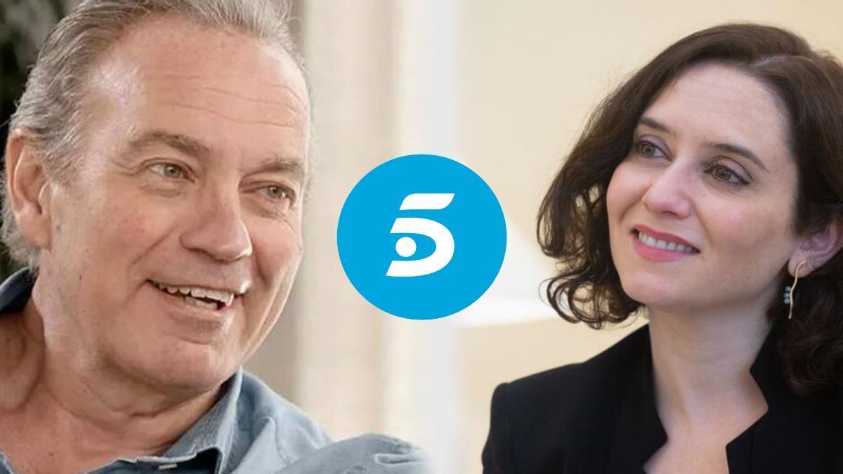 Bertín Osborne e Isabel Díaz Ayuso, nueva invitada de 'Mi casa es la tuya'.