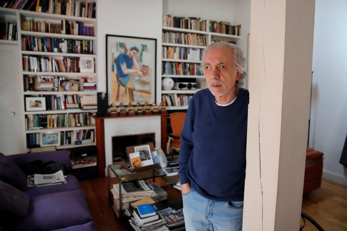 Fernando Trueba, en su casa de Madrid.