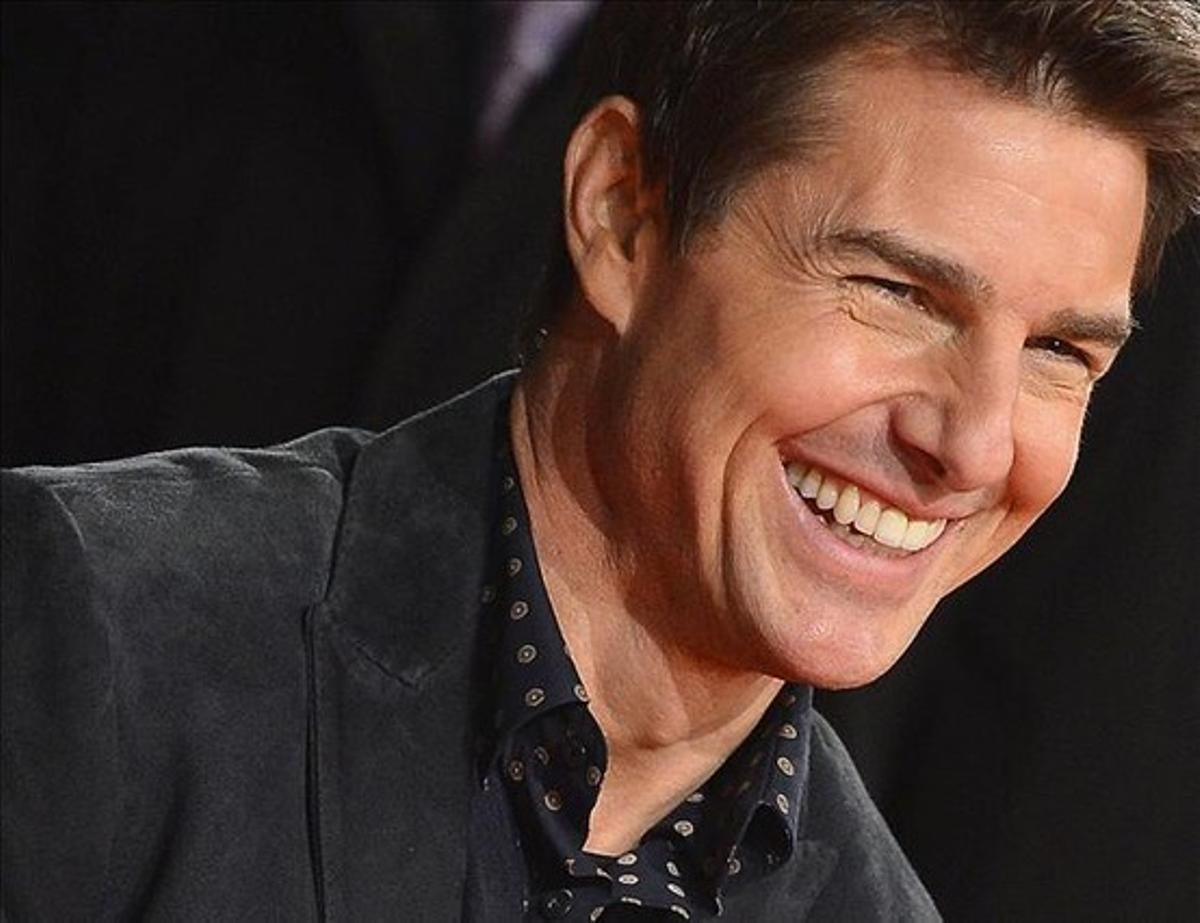 Tom Cruise en Londres, durante el estreno mundial de su película 'Jack Reacher'.